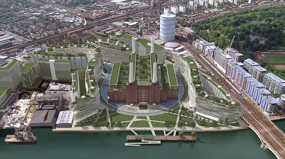Battersea Power Station GIA Render