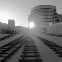 Battersea Power Station GIA Train Glare