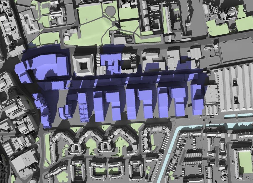 GIA London Dock Daylight & Solar Design Cam 1 Proposed