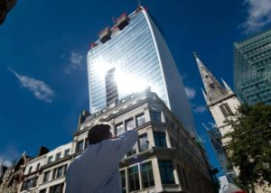 GIA 20 Fenchurch Street Solar Glare
